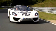 Movie: Chris Harris has a passengers drive in the Porsche 918 Spyder