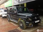 Mansory G 63 AMG Russia Limited Edition captured in Moscow