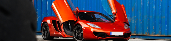 Fotoshoot: McLaren MP4-12C