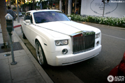 Amerikaans gestyled: Rolls-Royce Phantom in Beverly Hills