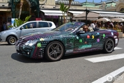 Eat, eat, eat! Mercedes-Benz SL 65 AMG with a Pacman wrap