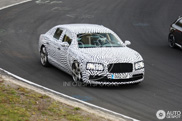 New Bentley Continental Flying Spur is tested on the Nordschleife