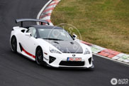 Another mysterious Lexus LF-A spotted at the Nordschleife