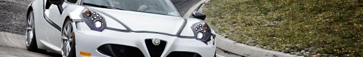 Alfa Romeo 4C stellt einen neuen Rekord für Autos unter  250 PS auf!