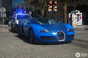 Bugatti owner is pulled over by Dubai police