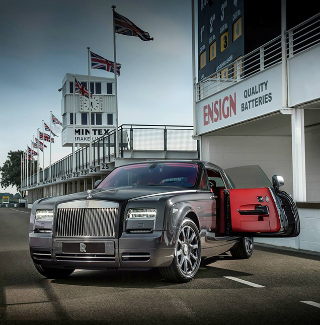 Bespoke Rolls-Royce Phantom Coupé eert Goodwood
