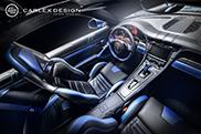 Carlex Design gaat voor blauw bij Gemballa 991