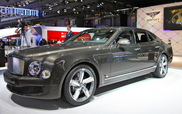 Parijs 2014: Bentley Mulsanne Speed
