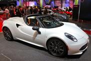Paris 2014: Alfa Romeo 4C Spider