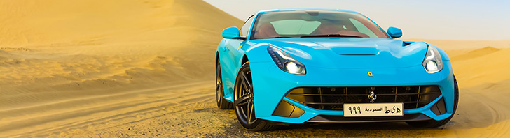 Photoshoot: Ferrari F12berlinetta in Dubai