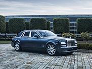 Rolls-Royce Phantom Metropolitan Collection staat in Parijs