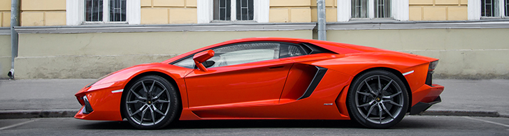 The most beautiful supercars from Moscow