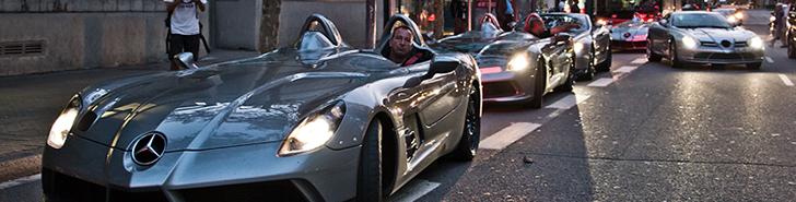 Fotoverslag: SLR McLaren club in Barcelona