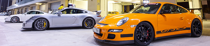 Photo report: Porsche Club UAE on the Yas Marina Circuit