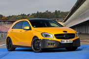 First teasers of the Mercedes-Benz A 45 AMG