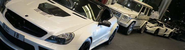 Brabus Stealth catches attention in Dubai