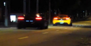 Movie: exotics driving through the streets of São Paulo