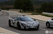 McLaren P1 rijdend vastgelegd in Spanje!