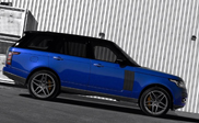 Project Kahn paints the new Range Rover blue
