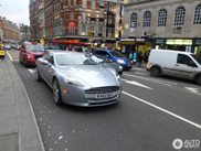Renewed Aston Martin Rapide spotted in London