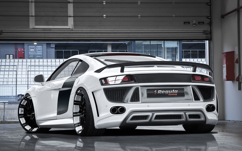 Regula Tuning improves the Audi R8