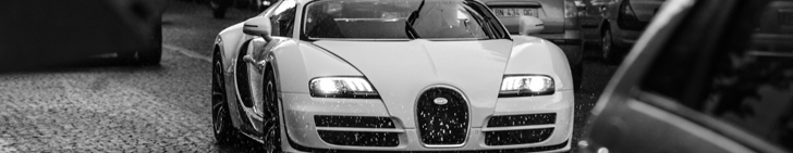 Photographic delight from Paris: Bugatti Veyron 16.4 Super Sport
