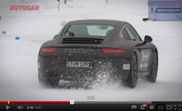 Movie: how good are winter tires for a sports car