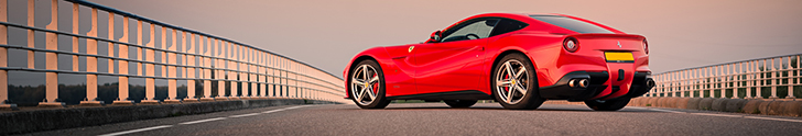 Amazing photoshoot: Ferrari F12berlinetta