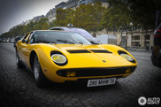 Lamborghini Miura P400 S in beautiful Paris