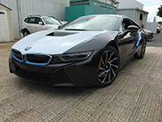 BMW i8 shows up in Puerto Rico