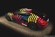 Ringgarage givest he Porsche Cayman a fancy wrap