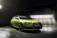 Audi unveils unique RS4 Avant B8
