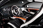 Very unique interior: Nissan GT-R by Carlex Design