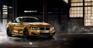Lovely rendering of the BMW M4!