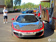 McLaren MP4-12C in a special trim spotted
