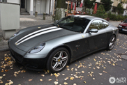 Striped Ferrari 612 Scaglietti captured