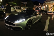Aston Martin Vanquish 2012 spotted in its natural habitat