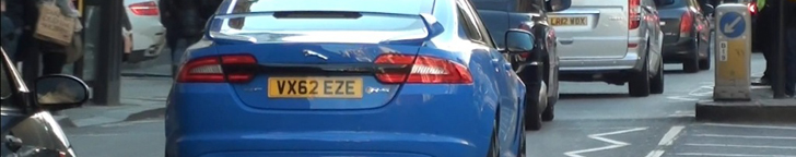 Fast scoop: Jaguar XFR-S in London