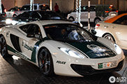 McLaren 12C joins the Dubaian Police