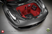 Ferrari 458 Italia gets equipped with unique audio system