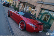 Mercedes-Benz SLS AMG Roadster with Domanig parts stands out