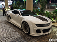 This special Chevrolet Camaro is on the right place in Dubai