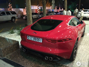 First Jaguar F-TYPE R is already spotted in Dubai!