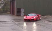 Taxtherich captured drifting Enzo and F50 in slowmotion