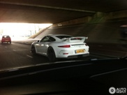 Spot van de dag: Porsche 991 GT3 is hot!