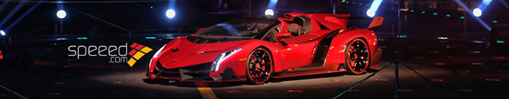 Lamborghini Veneno Roadster presented on aircraft carrier Nave Cavour