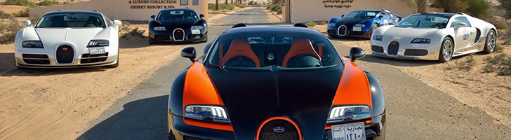 Bugatti Grand Tour shows the beauty of the Middle East
