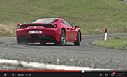 EVO is having fun in the Ferrari 458 Speciale