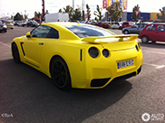 Do you like this yellow Nissan GT-R?