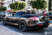 A beautiful SLR McLaren Roadsters is spotted in Tunisia